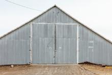 Corrugated Metal Barn And Farm Building