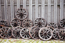 Wooden Carriage Wheels