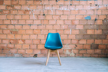 Chair On Industrial Background