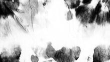 White Artistic Dirty. Gray Tie Dye Boho. Black