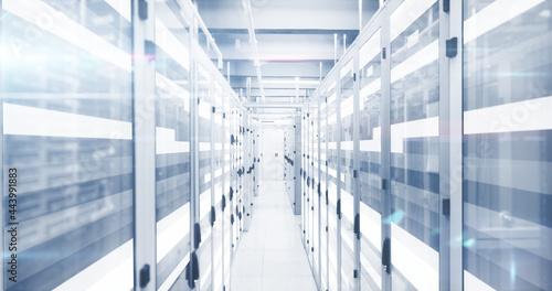 Data processing through data processing centre