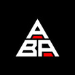 ABA triangle letter logo design with triangle shape. ABA triangle logo design monogram. ABA triangle vector logo template with red color. ABA triangular logo Simple, Elegant, and Luxurious Logo. ABA