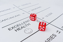 A Dice Game With Fate, Where Your Own Health Is At Stake