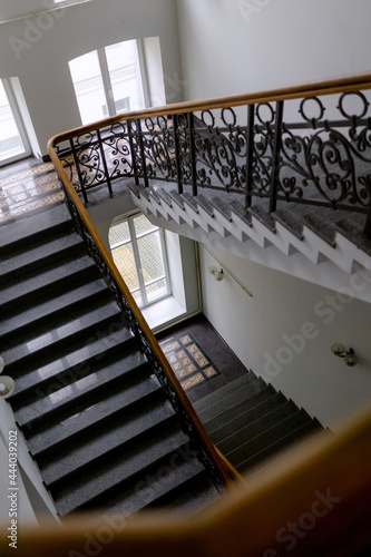 Tela Classic stairs style XX century made of iron and wood
