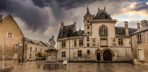 Tablou Canvas Panoramique du Palais Jacques Coeur