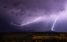 Lightning Over Tombstone