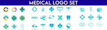 Medical Logo Set. Medical Logo Bundle.