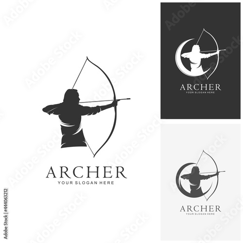 Murais de parede Creative archery design concepts, illustrations, vectors