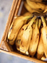 A Crate Of Bananas