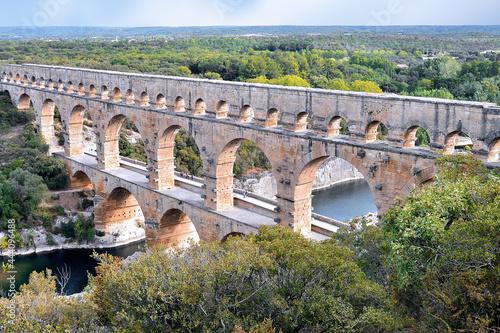 Fotografia Pont du Gard
