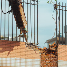 Demolishes The Wall