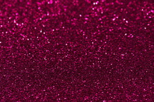 Pink Confetti Background. Shiny Grain Texture. Glamour Party Effect Pattern. Glowing Noise Glitter. Festive Christmas Glitter Background.