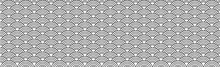 Seamless Pattern, Various Geometric Shapes On A White Background - Vector