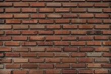 Old Walls Made Of Bricks For The Background Work