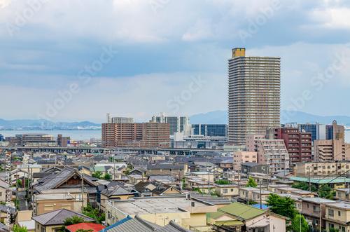 Foto 滋賀県の大津市の都市風景