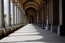 Corridor Of Cemetery