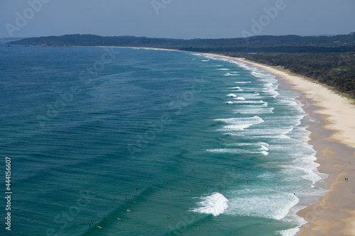 Fotografia Scenic View Of Sea Against Sky, Surfi G In Byron Bay Beach
