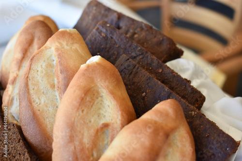 Fotografie, Obraz Canasta de pan, pan frances bolillo