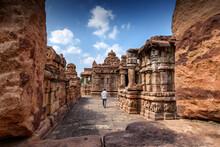 The Virupaksha Temple At Pattadakal Temple Complex, Karnataka, India