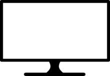 TV Frame Silhouette