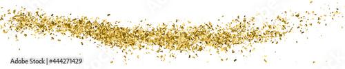 Fotografiet Gold Glitter Texture On White