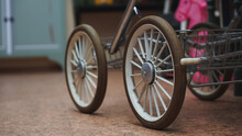 Wheels Of An Baby Carriage