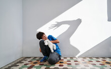 Domestic Violence And Child Abuse Concept