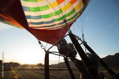 Fototapeta hot air balloon