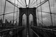Brooklyn Bridge Defocused Day Night