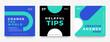 trendy social media promotional post banner design