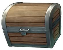 木製の宝箱