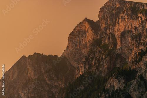 Fotografía Il momento del tramonto sulle Dolomiti è sempre qualcosa di magico