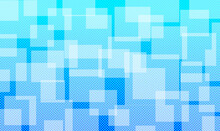 Blue Net Pattern Background With Square Pattern