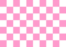 Chess Pattern In Light Pink Concept Vector
