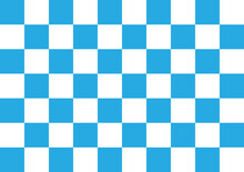 Illustration Of A Geometric Abstract Background Vector With Squares Blue Checkered