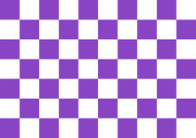 Graphic Art Textile Dtp Designer Purple Checkered Background