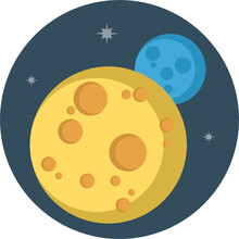 Vector Design Of Space Icons