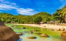 Fantastic Beautiful Panoramic View From Silver Beach Koh Samui Thailand.