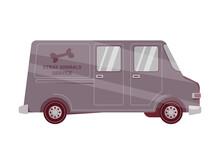 Stray Animal Service Van
