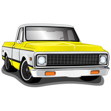 1970's Vintage Classic Pickup Truck