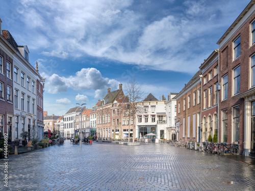 Obraz na plátne Zaadmarkt in Zutphen,  Gelderland Province, The Netherlands