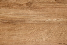 Wooden Table Top With Deep Veins Of Light French Oak. Vector Wooden Background.
