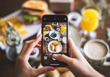 Phone Takin A Food Photography