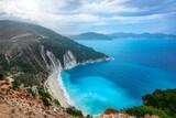 Fototapeta Paryż - Myrtos beach, Kefalonia, Greece