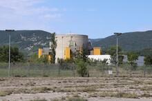 Superphenix, Surgenerateur A Neutrons Rapides De Creys Malville, Centrale Nucléaire Expérimentale Mise En Service En 1986 Et Arretee En 1997, Ville De Creys Mepieu, Departement De L'isere, France