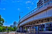 【神奈川】JR横須賀駅周辺の都市風景