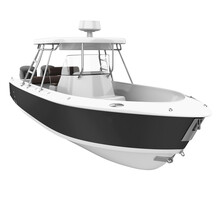 Fishing Boat Isolated