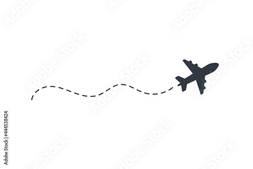 Obraz na plátně Airplane routes