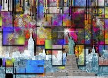 NYC. Manhattan Painting