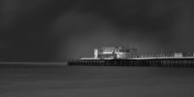 Worthing Pier In Black And White Fine Art